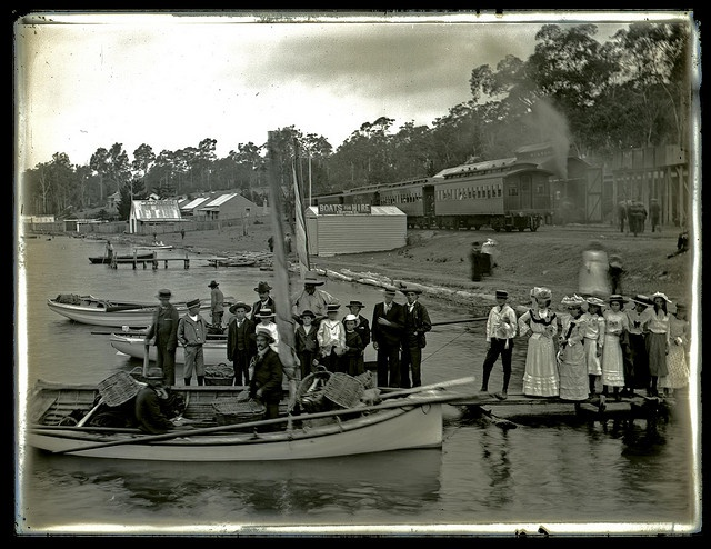 Fishing Boats, Toronto, NSW, 23 January 1903