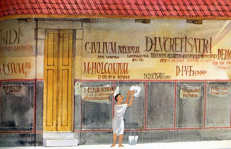 Verkiezingscampagne in het oude Rome