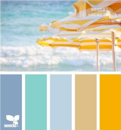 beachy color combos