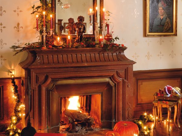 fireplace mantel lighting. wooden fireplace mantels candle decoration with mirror and lighting style httplanewstalk mantel e
