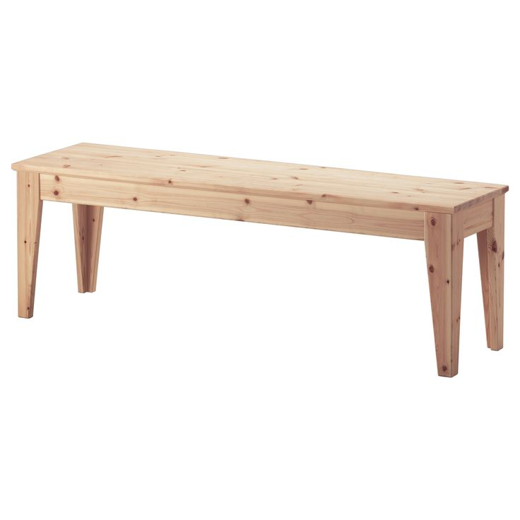 NORNÄS Bench - IKEA $89  *could also pull this into the dining room for extra seating when hosting parties.