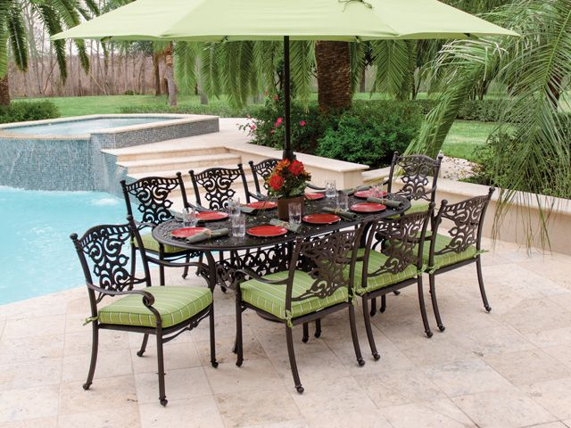 Hanamint St. James Dining Is One Of Our Top Selling Collections Year After  Year For. Cast Aluminum Patio FurnitureOutdoor ...