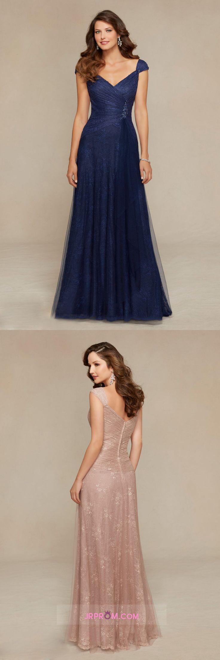 Off The Shoulder A Line Evening Dresses With Beads And Ruffles Tulle & Lace