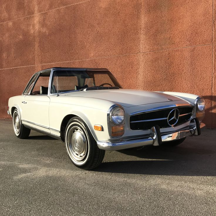 This Is 1969 Mercedes-Benz 280SL Pagoda Shown Here With 2