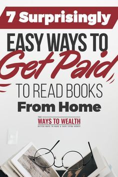 7 Ways To Make Good Money For People Who Love To Read