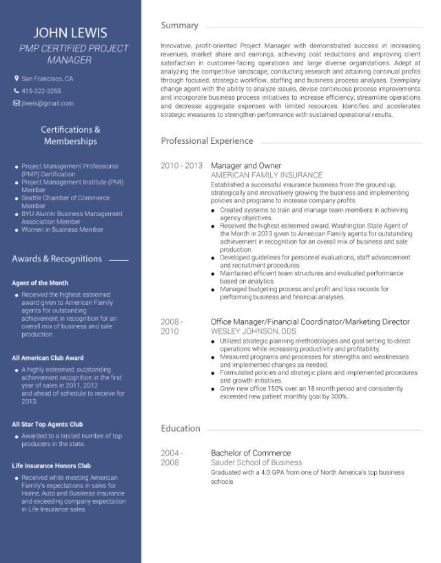 Cv Template Avant Online Cv Visual Resume Cv Resume Sample