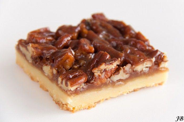 pecannoten koek met honing
