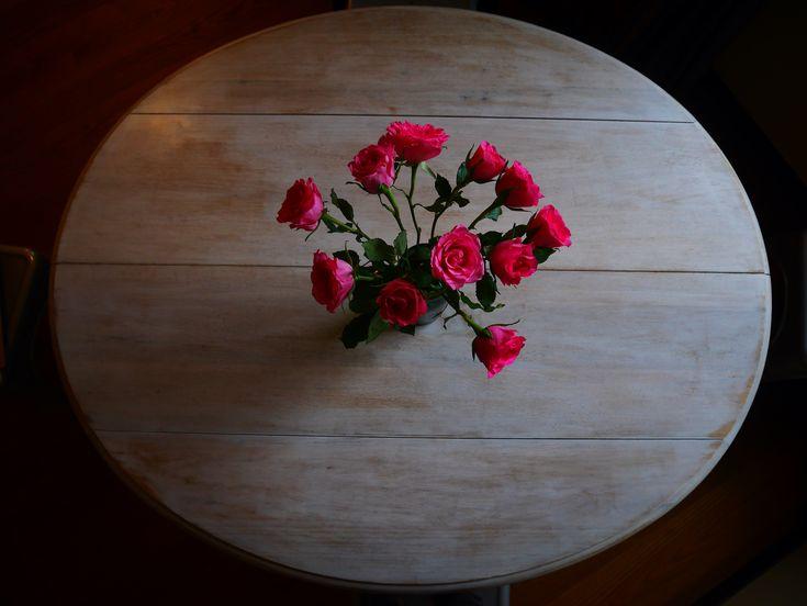 Bouquet de roses, photo prise par Valérie Coutrot.
