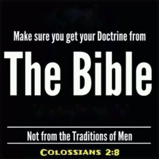 Colossians 2:8 Beware lest any man spoil you through philosophy and vain deceit, after the tradition of men, after the rudiments of the world, and not after Christ.