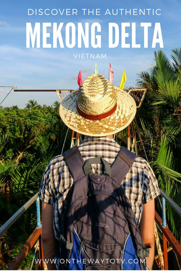 Thinking about a trip to exotic Vietnam? Make sure to add Mekong Delta to your itinerary! It's one of the biggest highlights of our trip!