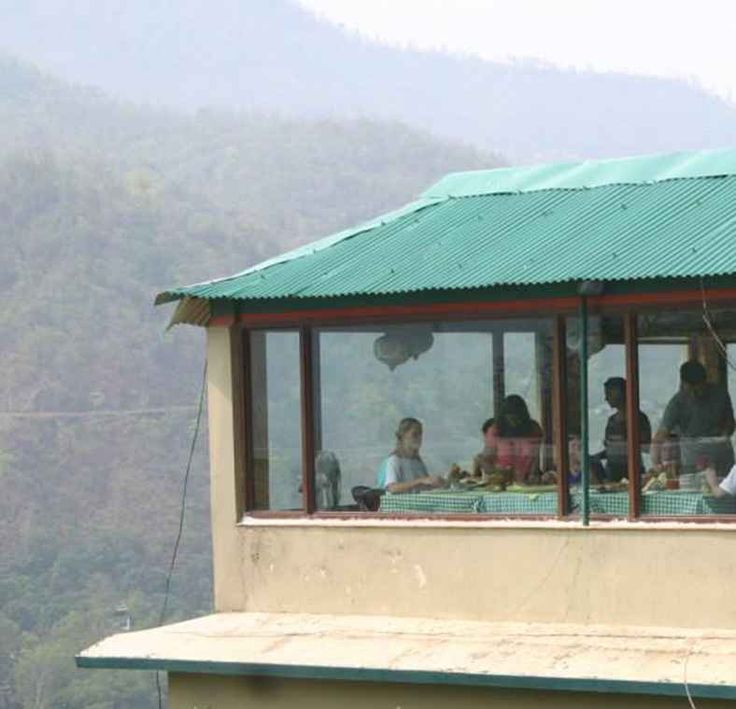 Rishikesh: Yoga capital of the world. Where the ashram visited by The Beatles is.