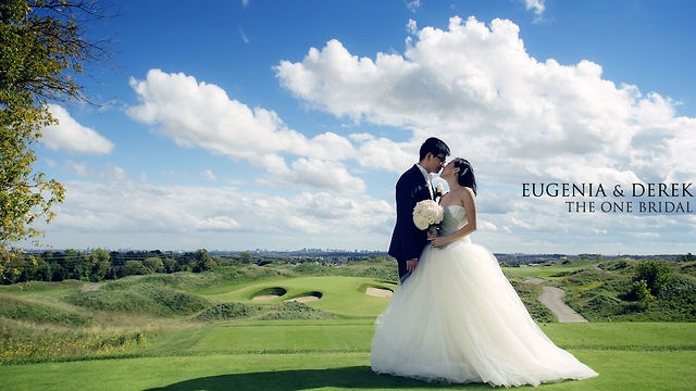 Eugenia & Derek's Wedding Video.   Filmed at Eagle Nest Golf Club with   beautiful weather and an outdoor Ceremony ending with stunning fireworks. Also, check out their wedding and engagement photos at our website.    http://www.theonebridal.ca/?p=1720