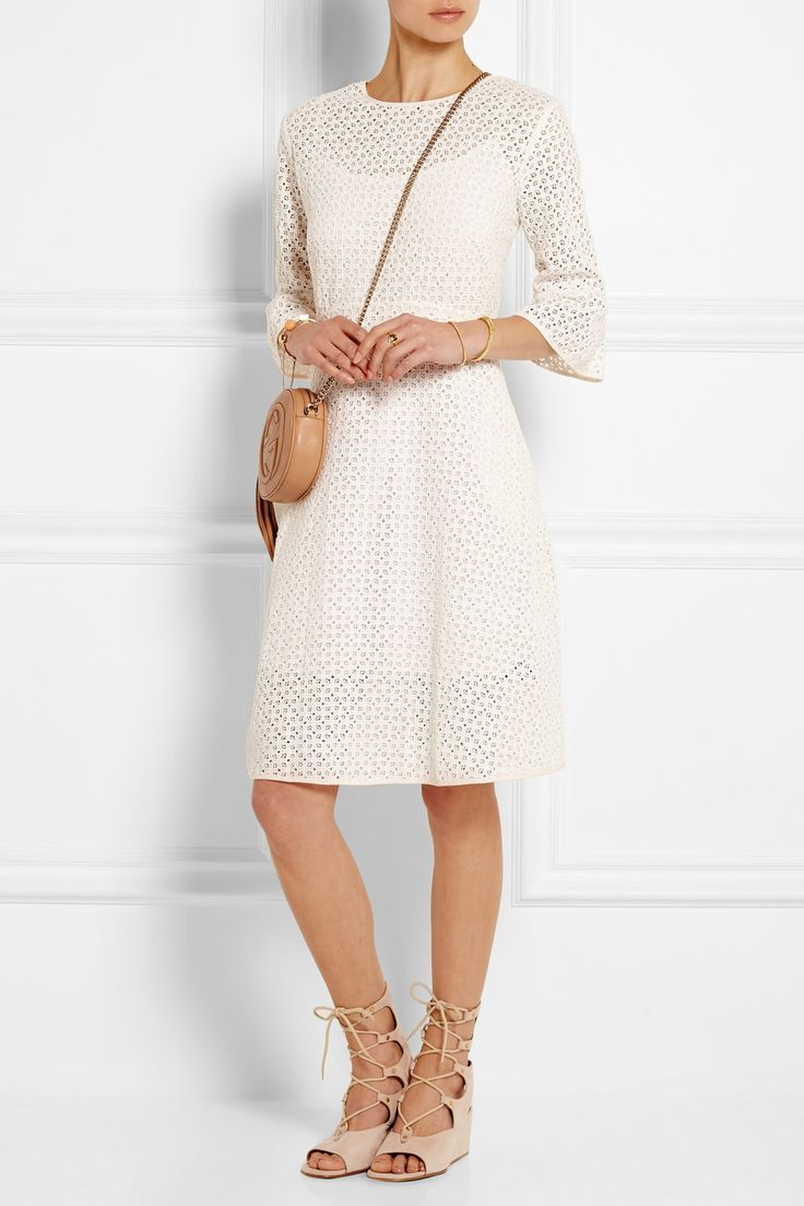 Needle & Thread | Geo crocheted cotton-lace dress | NET-A-PORTER.COM