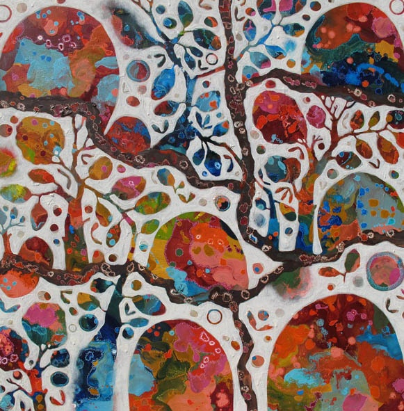 Rosetta Santucci painting - CHANGING DAY