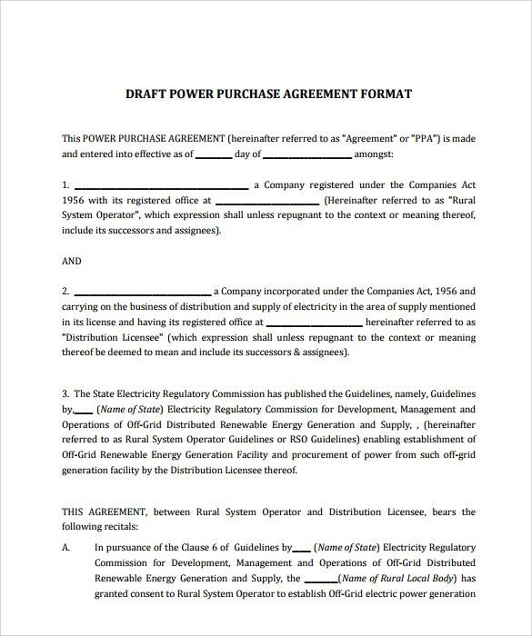 Purchase Contract Template Free Here S What People Are Saying