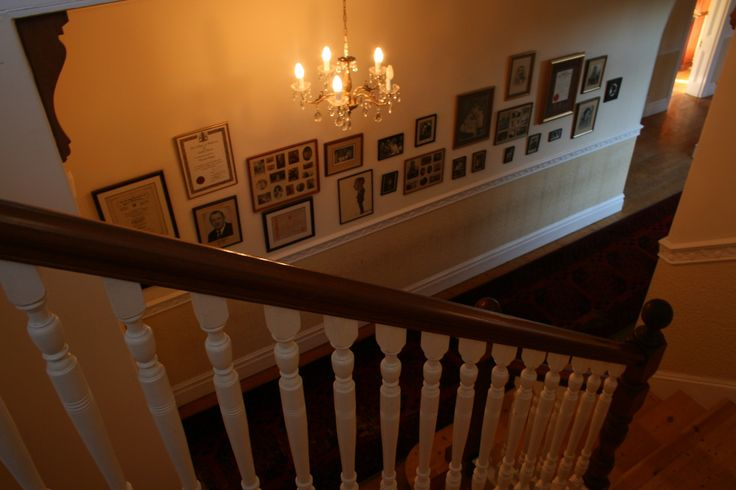 The Family Photo Staircase