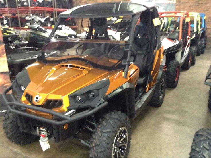 New 2016 Can-Am Commander LIMITED 1000 ATVs For Sale in North Carolina. 2016 CAN-AM , Honda, Sea-Doo & Can-Am of Winston-Salem In Stock 2016 Can-Am Commander LIMITED 1000 - Cognac New Cognac Excellent Clean 6GGB Engine Type 85 hp, Rotax, V-twin Displaceme