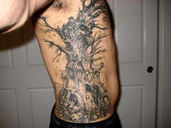 tree tattoo designs for men - Google Search