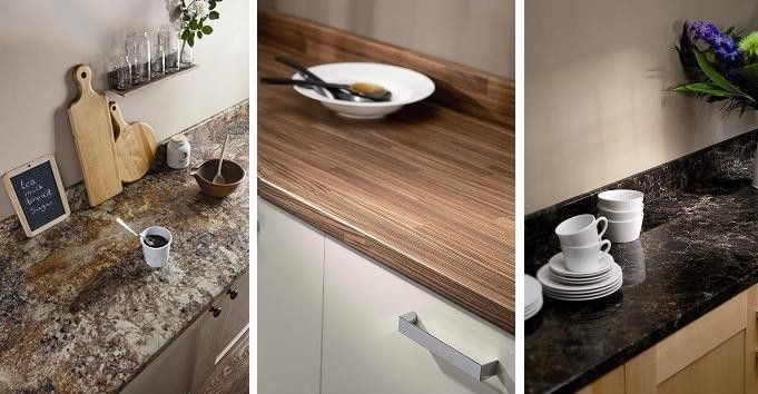 #When it comes to #kitchen worktops, people find a great variety of #materials, designs and colours. Choosing a worktop for your kitchen seems like a child's play but it's actually a much tougher nut to crack.