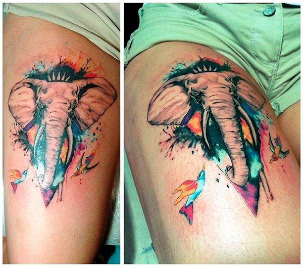 значение татуировки слон
