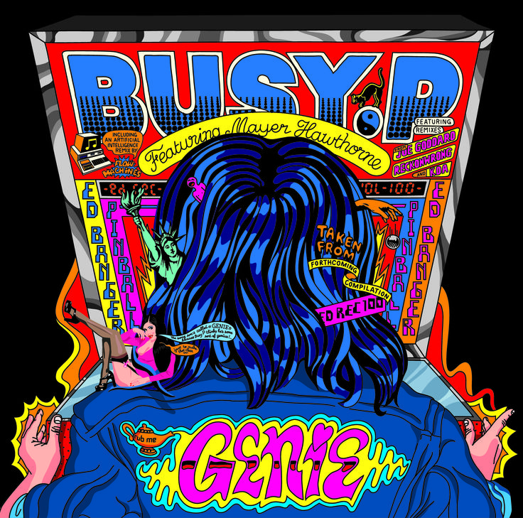 #housemusic Genie (Joe Goddard Remix): Cosmic synths and twinkling atmospherics, Joe Goddard's remix of Busy P's latest offering 'Genie' is…