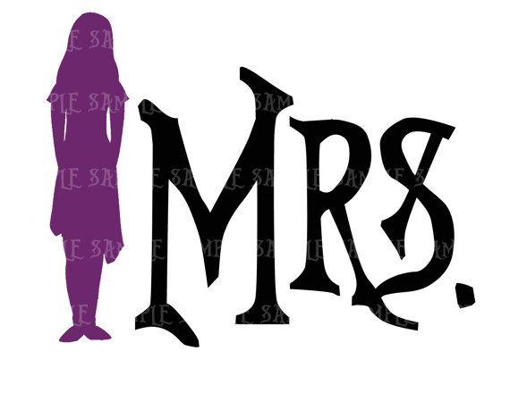 MRS Nightmare Before Christmas DIY You Print By CupcakePrintables, $5.00. Christmas  Wedding InvitationsDisney ...