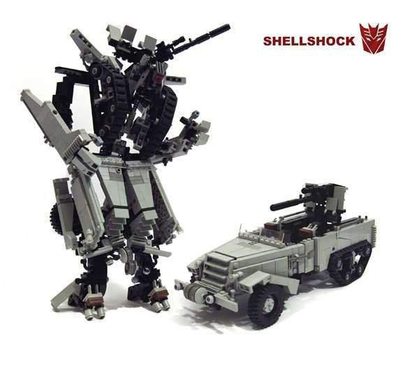 LEGO Transformers | Shellshock - lego transformer - TFARCHIVE