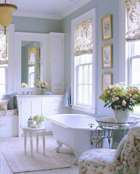 61 best Shabby chic bathrooms images on Pinterest Room