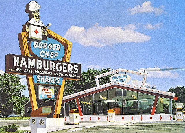 Loved Burger Chef I would always get a Big Chef to eat on the long drive from college to home!