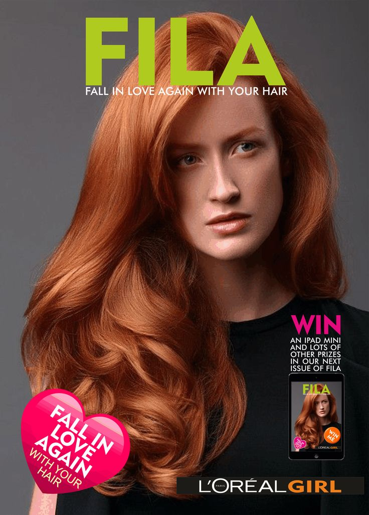 L'Oreal Girl E Magazine - Beautiful Hair Styles - Fabulous Colour Trends and everything L'Oreal Fall in Love Again with your hair