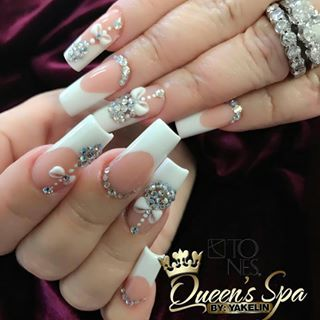1197 best nails images on pinterest  chic nails crystals
