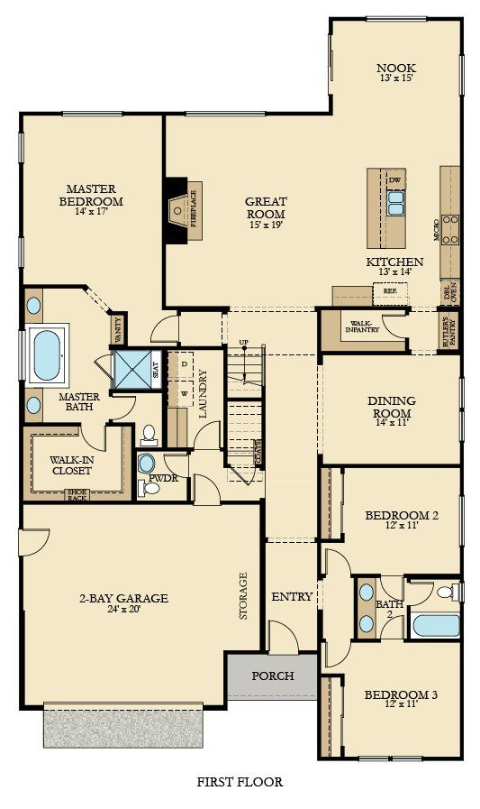Residence One New Home Plan In West Haven: Carriage House