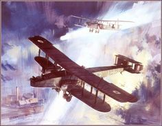 Handley Page O/400 by Michael Turner