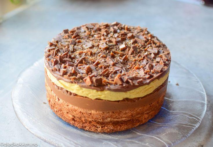 Jeg er veldig glad i daim og denne kaken smaker så fantastisk. Jeg hadde en venninne av meg Lillian på besøk og vi har sammen laget denne kaken. (hennes oppskrift, men jeg deler med dere) Her får d…