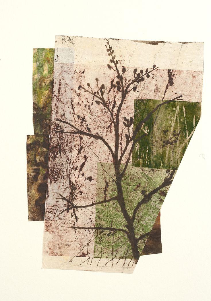 "Contemporary Printmaking - ""Sapling"" (Original Art from Paula Zinsmeister)"