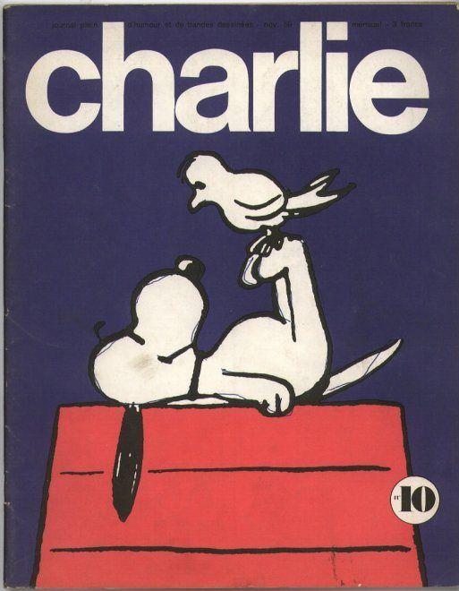 Charlie Mensuel - # 10 - Novembre 1969 - Couverture de Schulz