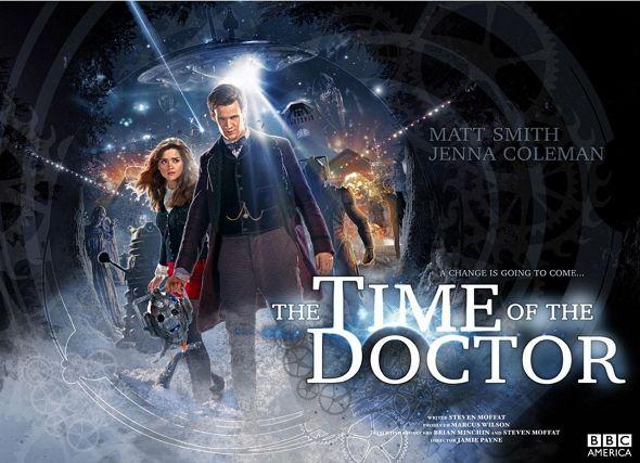 NUEVO PÓSTER para 'The time of The Doctor'! el buque insignia de la BBC.