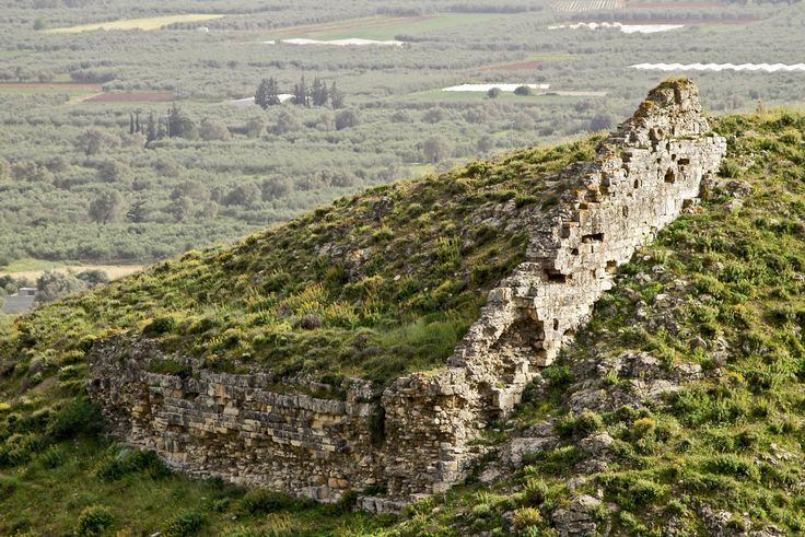 Early Byzantine #Acropolis at #Gortyna, Messara Plain, South Heracleion Prefecture. #archaeology