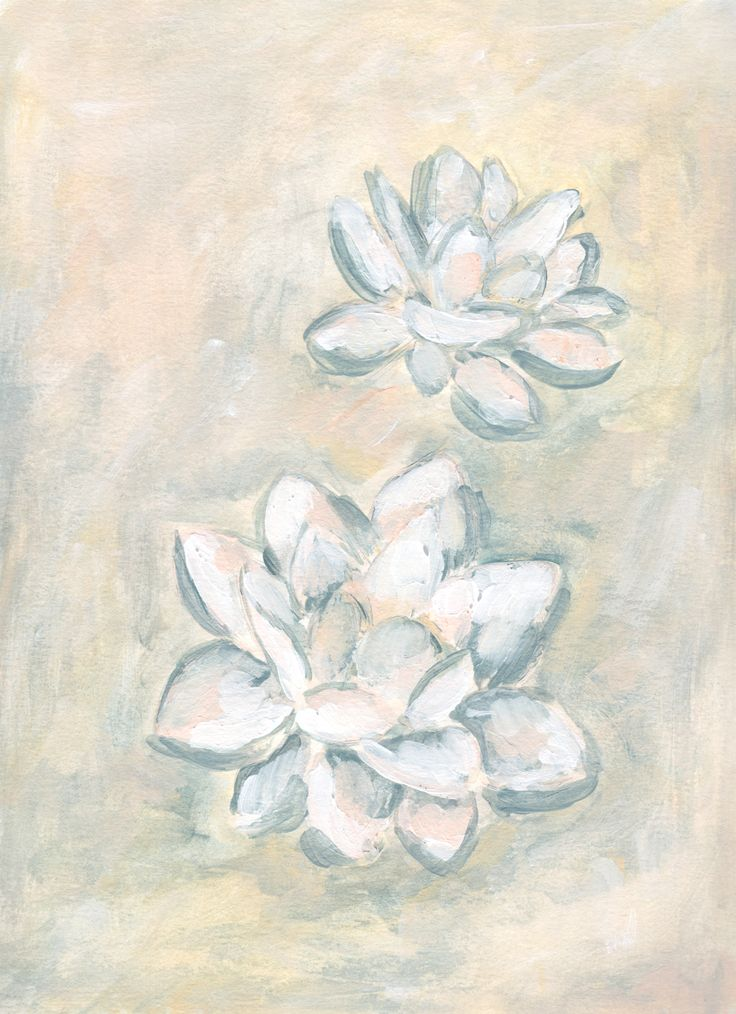 Lotus Painting by Kristen Laczi | Flower Painting | Floral Painting | Abstract Art | Original Art | Yoga Art | Meditation Art | Just Breathe | Relax