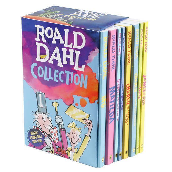 The Roald Dahl Collection: 8 Book Box Set NEW!