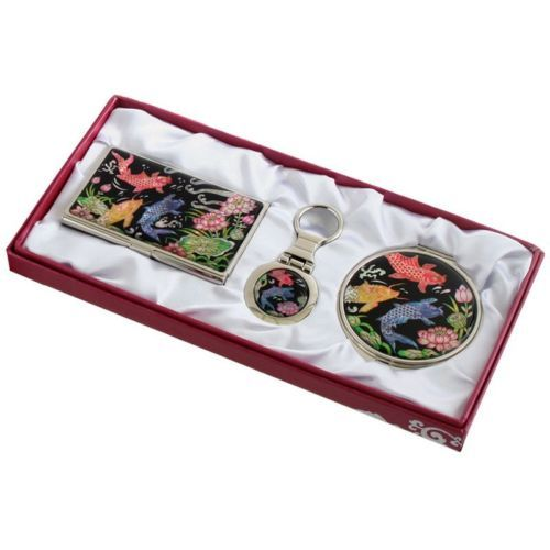business card #holder id case makeup compact #mirror #keychain ring gift set #70,  View more on the LINK: 	http://www.zeppy.io/product/gb/2/201473402117/