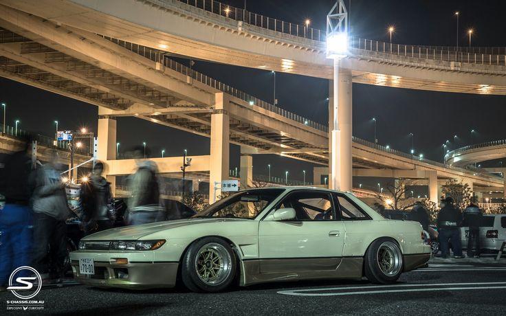 Nissan silvia #s13 #drift #stanced