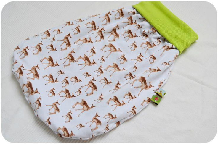 PUNKELMUNKEL: Tutorial: Pucksack/Strampelsack nähen/ How to sew a Baby Sleeping bag