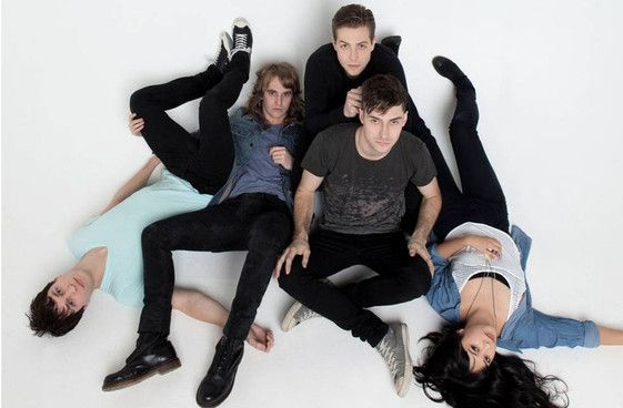 DEFINITELY one of my most favourite bands : The Naked and Famous (#TNAF)