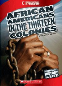 Cornerstones of Freedom - In 1619, the first recorded African slaves arrived on the shores of the English colony of Jamestown in North America. For nearly 250 years, African people were treated as property and forced to perform difficult labor, day in and day out. This title explores the history and culture of the African American people in the years prior to the establishment of the United States. It also discusses the end of slavery and the difficulties that African Americans continue to…