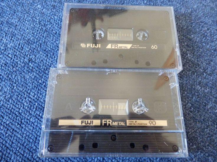 2x Fuji FR Metal 60 & 90. Reineisen Typ IV Metall, guter Zustand.