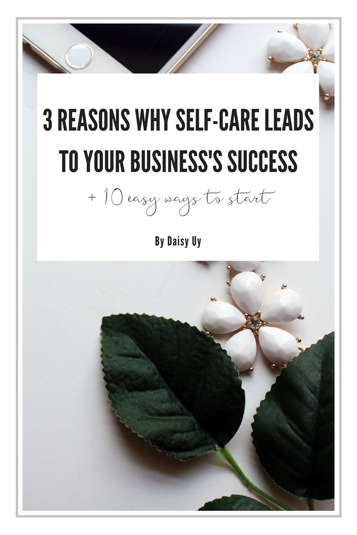 Are you taking care of yourself? Your business might depend on it. http://noraconrad.com/blog/selfcare10