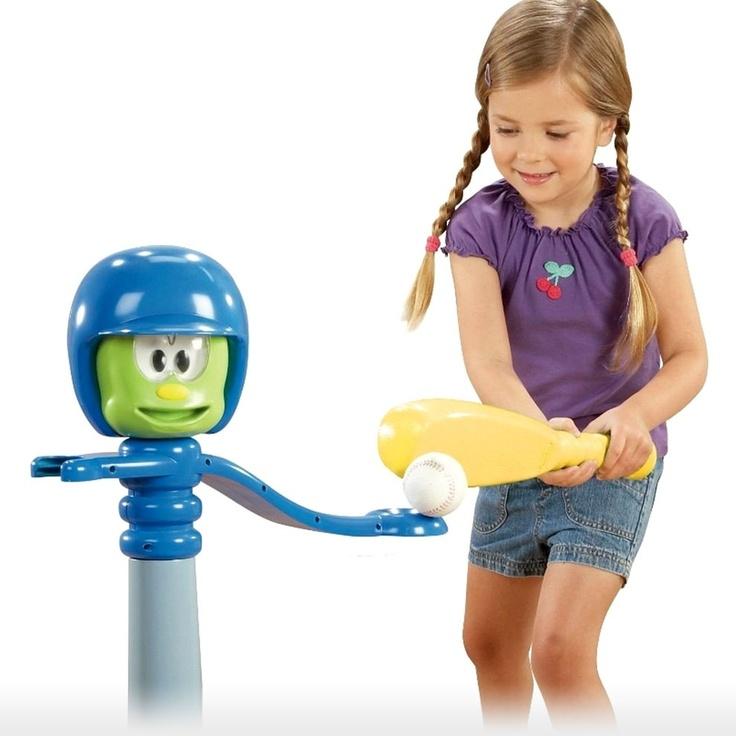 Toddler Toys Sports : Little tikes toys y talk to me baseball set video