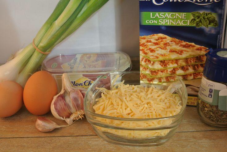 benodigdheden lasagne rolletjes