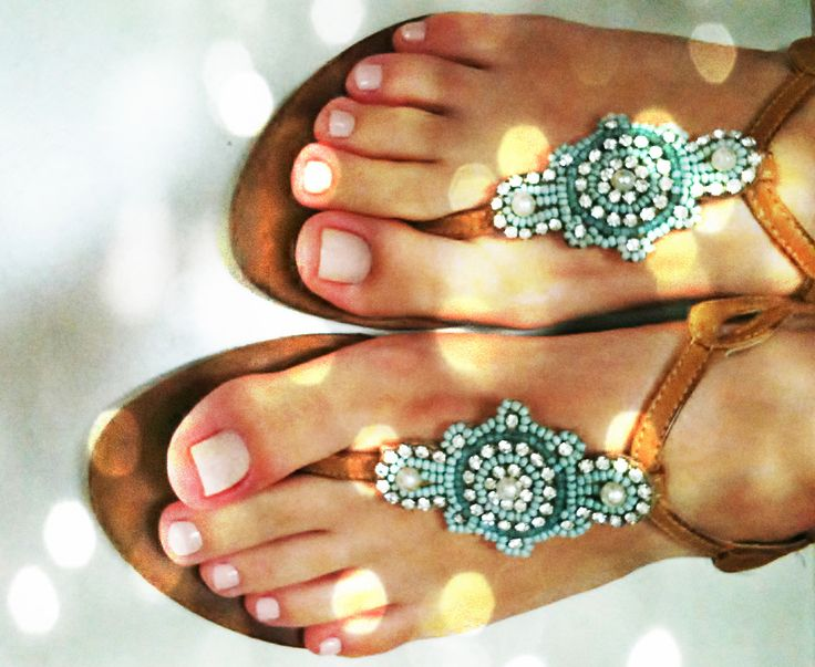 "Pedicures & ""Bohemian"" Style Sandals"